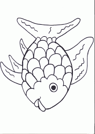 fish cutout template many interesting cliparts