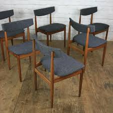 Mustard Dining Chairs by 6 Vintage G Plan Dining Chairs By Kofod Larsen Mustard Vintage