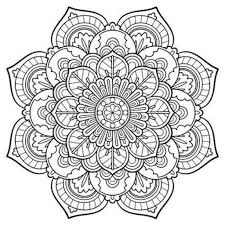 snowflake mandala free coloring page coloring pinterest throughout