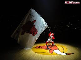 Flag In Computer Nba Image As Computer Wallpaper U2013 Chicago Bulls U0027 Flag In The Fly