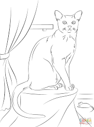 kitten coloring pages to print at free cat theotix me