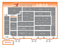 cobo hall floor plan your 2013 detroit auto show manual