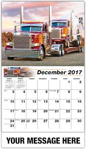 kenworth calendar 2017 custom big rigs 65 business promotional wall calendars