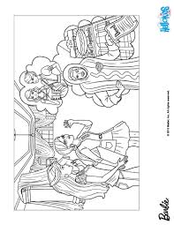 barbie and her friend alice coloring pages hellokids com