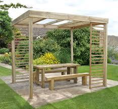 garden pergolas forest garden uk stockist