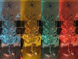 aluminum christmas tree aluminum christmas tree with color wheel fishwolfeboro
