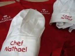 tablier de cuisine enfant personnalisé tablier de cuisine brodé personnalisé enfant par tendrecreation