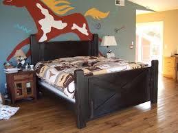 handmade barn door bed arcadian cottage phoenix arizona made