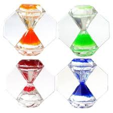 Customized Desk Accessories Times Up Shape Sand Timer Customized Desk Accessories