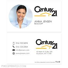 Century 21 Business Cards Century 21 Real Estate Business Cards U2013 Pixels Printed