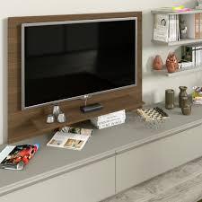 mensole sotto tv pannello porta tv con passacavi arredaclick