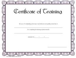 borderless certificate templates this printable certificate of training has a blue gray scalloped