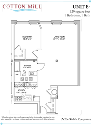 all floorplans at cotton mill starting at please inquire