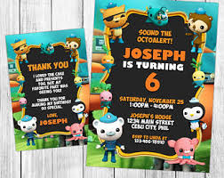 octonauts party etsy