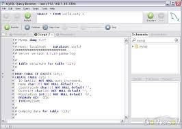 sql query browser tutorial download free mysql query browser for windows mysql query browser