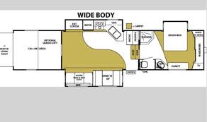 fuzion toy hauler floor plans garage on this fifth wheeler rv turns into bunk beds perfect for