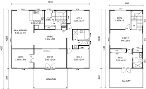 technical drawing floor plan the valley view
