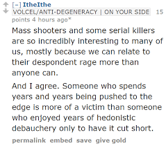 reddit incels celebrate deaths of u201cnormies u201d in las vegas mass