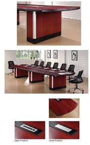D Shaped Conference Table Adorable D Shaped Conference Table With Computer Conference Tables