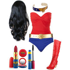 Homemade Woman Halloween Costume Homemade Woman Costume Bathing Suits Polyvore