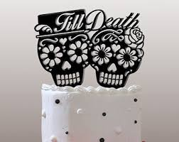 day of the dead cake toppers day of the dead dia de los muertos till wedding cake