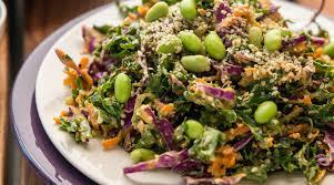 Garden Vegetable Salad by Shredded Rainbow Salad With Lemony Avocado Dressing The Splendid