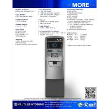 nautilus hyosung halo ii series atm machine