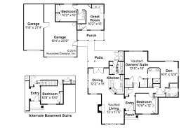 House Plans With Guest Home Regarding Ranch Plan Kingsley 30 184 Pool And Guest House Plans