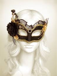 black and gold masquerade masks black gold masquerade mask with various accents venetian style