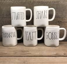 thanksgiving mug this new dunn by magenta thanksgiving mugs set of 5 includes