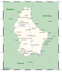 Map Of France And Surrounding Countries by Geography Of Luxembourg Wikipedia