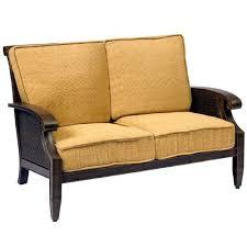 Wicker Loveseat Replacement Cushions Woodard Whitecraft Replacement Cushions Whitecraft Del Cristo