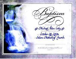 baptismal certificate template virtren com