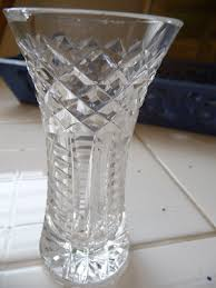 Waterford Crystal Small Vase Teapots And Polka Dots July 2009