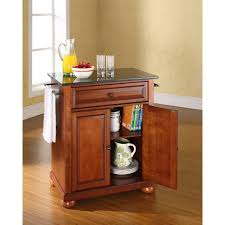 cherry kitchen islands kitchen black granite top cherry kitchen island designed for