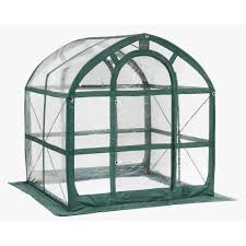 Palram Harmony Greenhouse Palram Harmony 6 Ft X 6 Ft Polycarbonate Greenhouse In Silver
