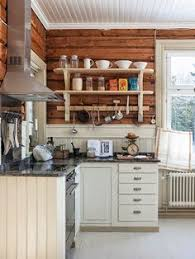 Cabin Kitchen Cabinets North Carolina Log Cabin Kitchen Cabinetry Log Cabin Homes