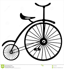 retro bicycle on white royalty free stock image image 31662956