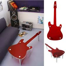 guitar shaped coffee table domestic pinterest guitars