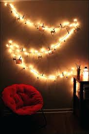 wall string lights bedroom amazing cute for how to hang full size