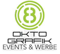 design grafik oktopus events gmbh okto grafik graphic logo design signs