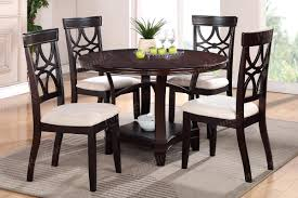 dining chairs furniture of 7 piece round pedestal dining set