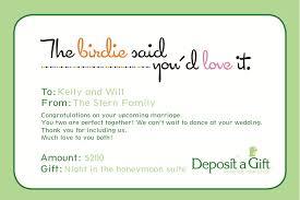 bridal registry for honeymoon gift card wedding registry lilbibby
