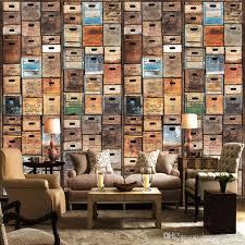 Bookcase Backdrop 3d Stereo Custom Bookcase Bookshelf Wallpaper Mural Leisure Coffee