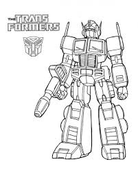 Transformer Coloring Pages Free To Print Coloringstar Transformer Color Page