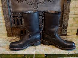 engineer motorcycle boots deadstock 1960s chippewa steel toe engineer boots u2013 basecamp