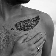 50 collar bone tattoos for men clavicle design ideas