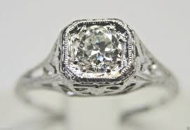 antique diamond engagement rings antique vintage art deco