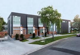 frank a modern townhouse development modern home victoria