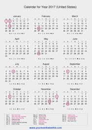 2017 us calendar printable 2017 us calendar zoplar dcbuscharter co
